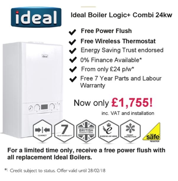 ideal boiler install boiler installation